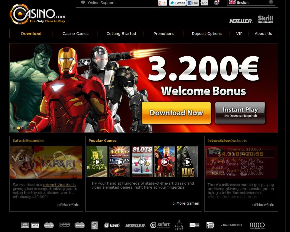 best place to gamble online