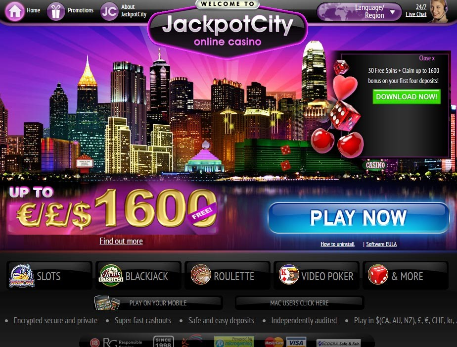 jackpotcity online casino games twist login