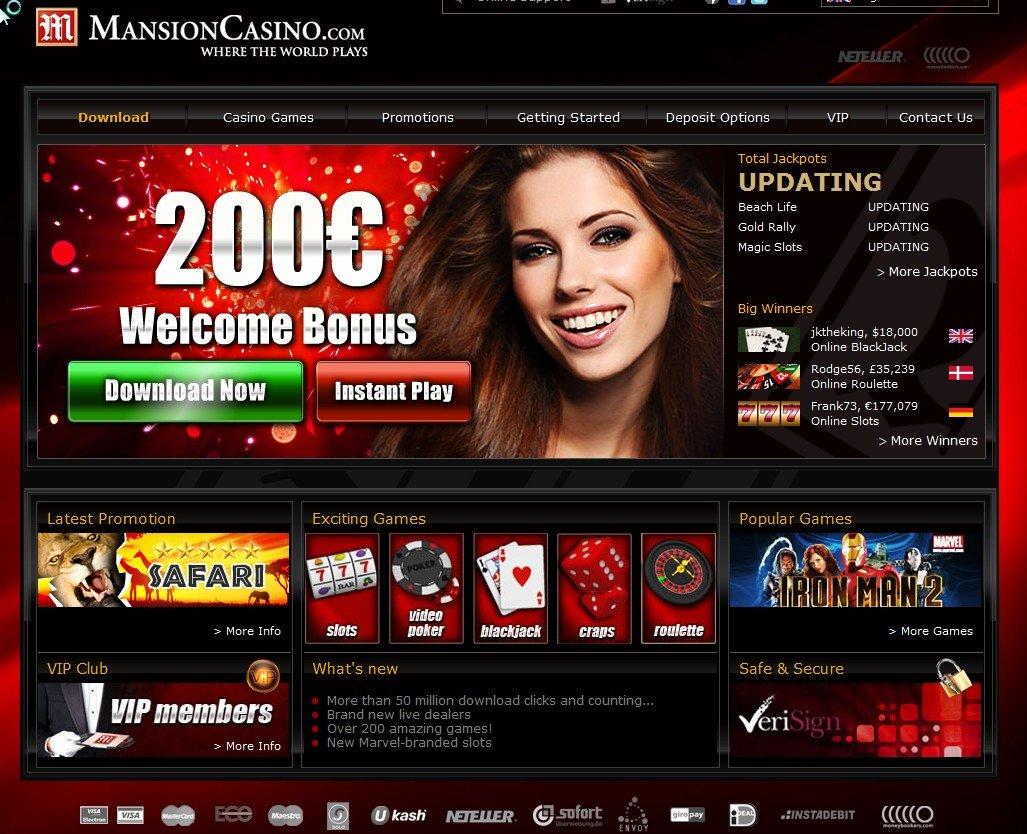 mansion online casino fortune online