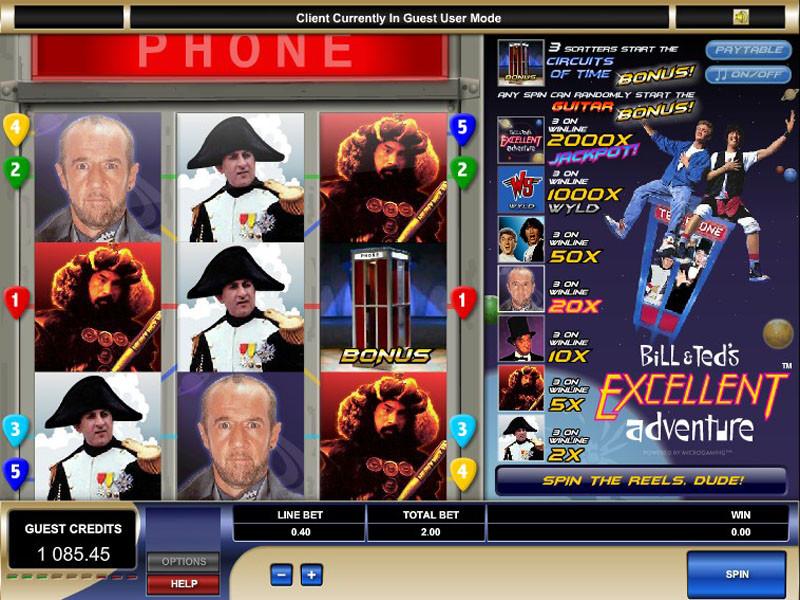 yukon gold slot machine