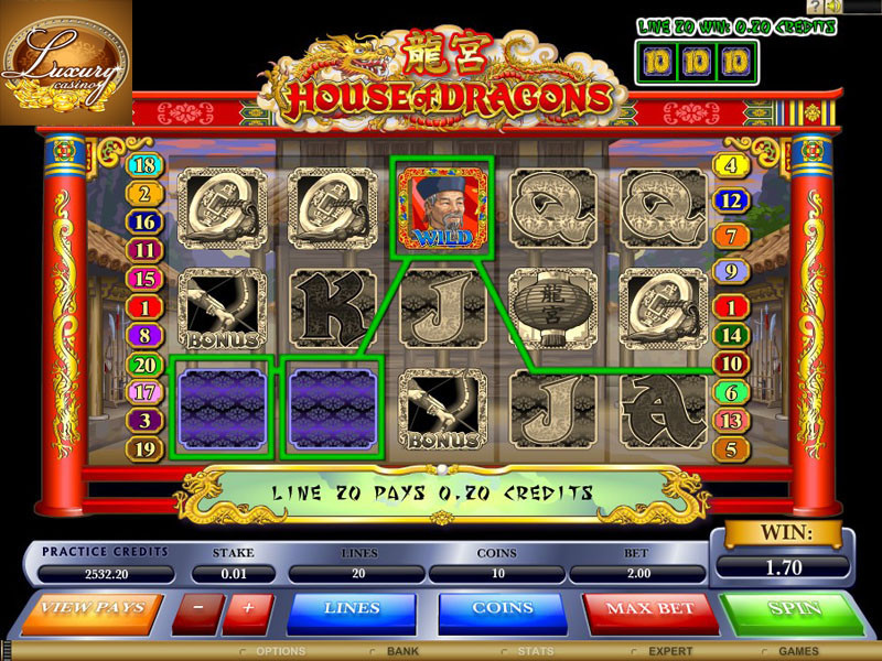 online casino luxury
