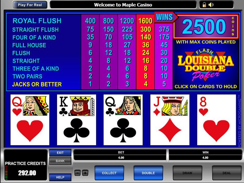 online casino video poker river queen