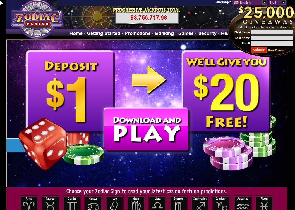 which online casino pays the best casino zodiac