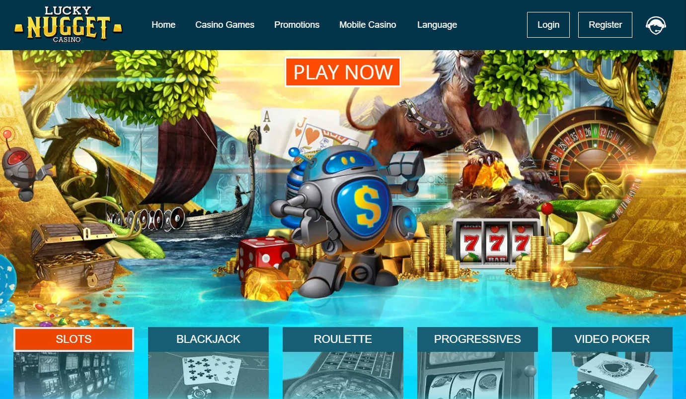 Lucky Nugget Online Casino Games