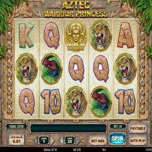 Aztec Warrior Princess Slot Machine - Play for Free Online Today