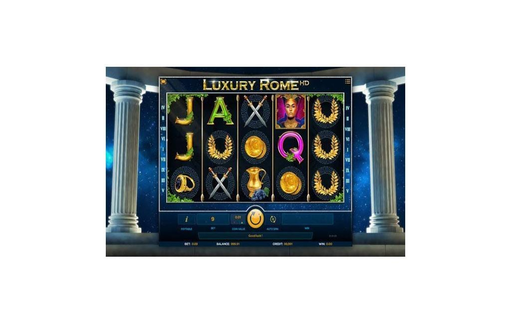 luxury rome slot