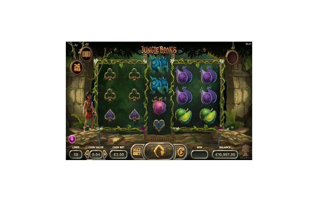 jungle book slot