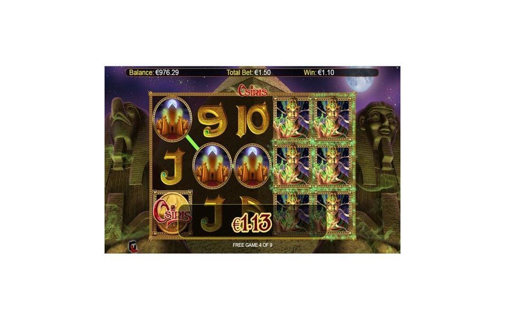 osiris slot machine