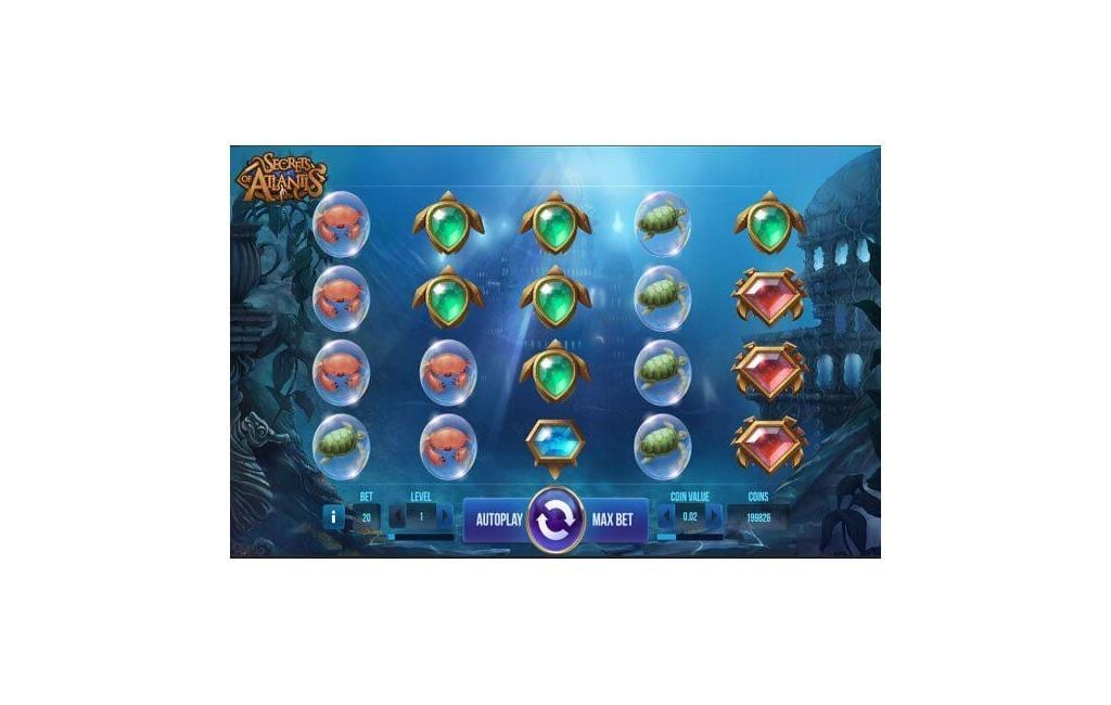 Secret of Atlantis slot