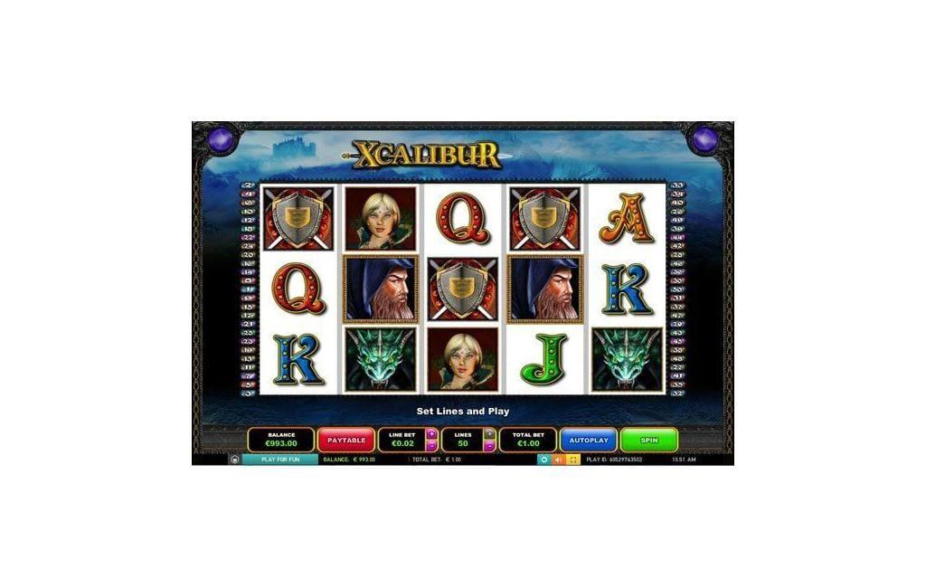 xcalibur Slot
