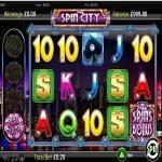 free spin city slot