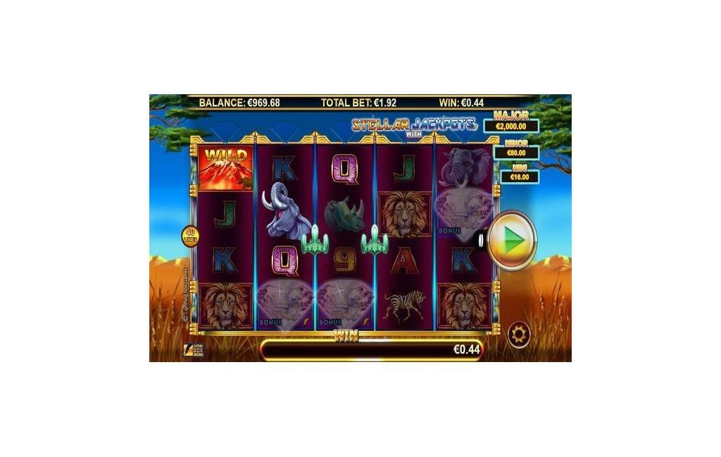 Stellar Jackpots with Serengeti Lions Slot - Play it Now for Free