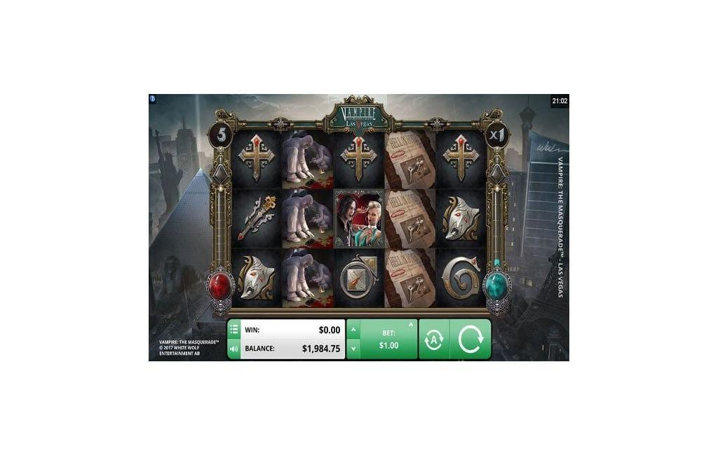 Vampire the Masquerade slot