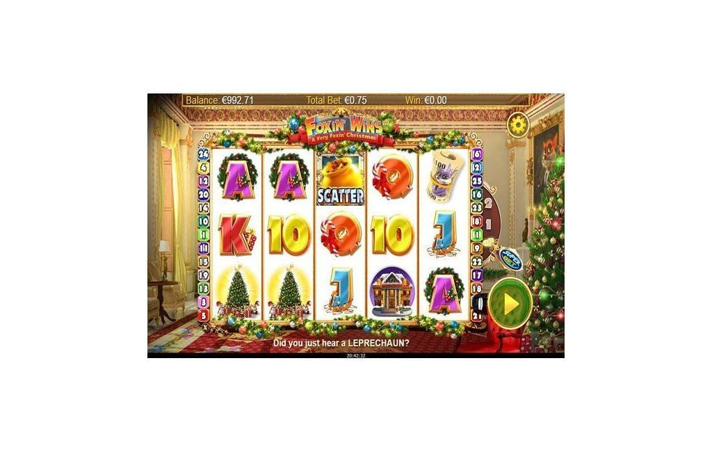 Foxin Wins Christmas slot