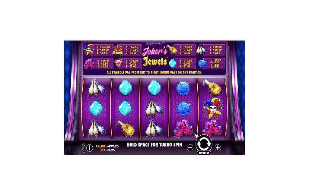 jokers jewels slot