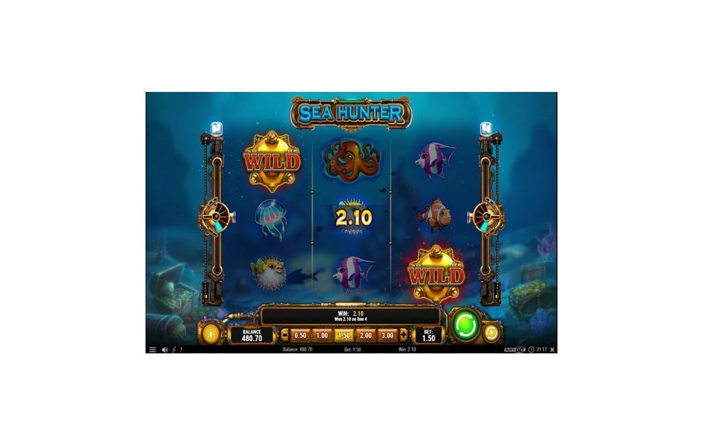 sea hunters slot