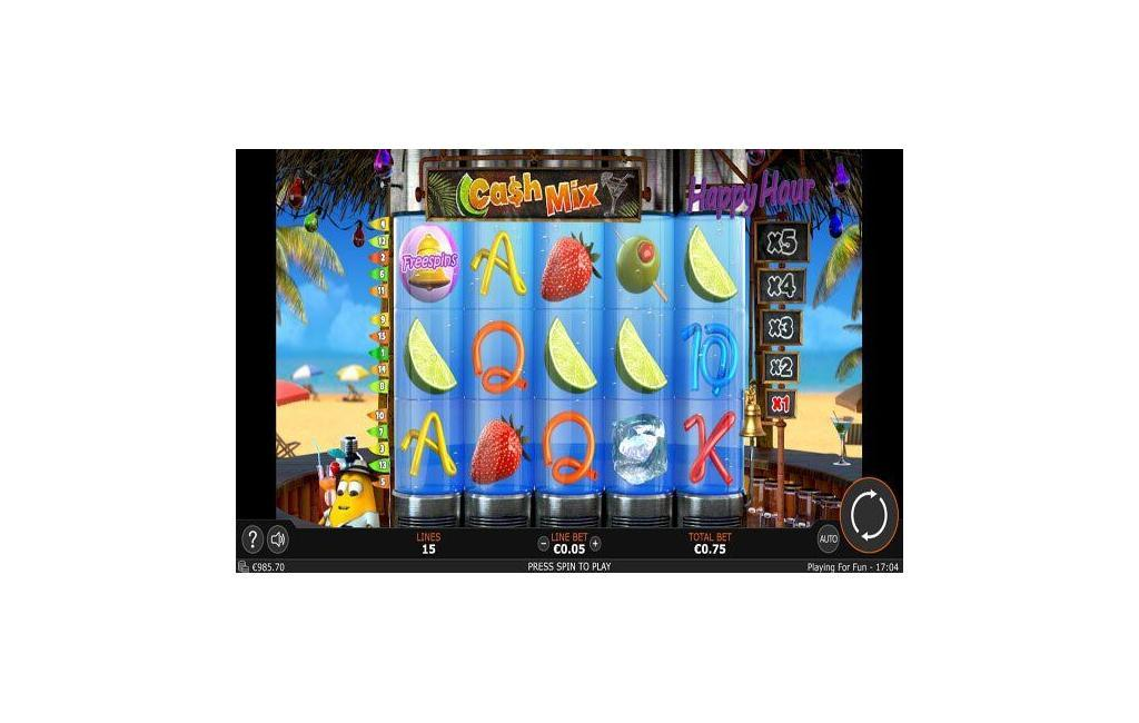 cash mix slot