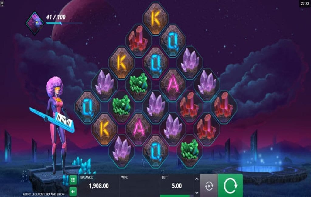 astro legends slot