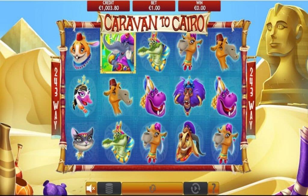 caravan to cairo slot