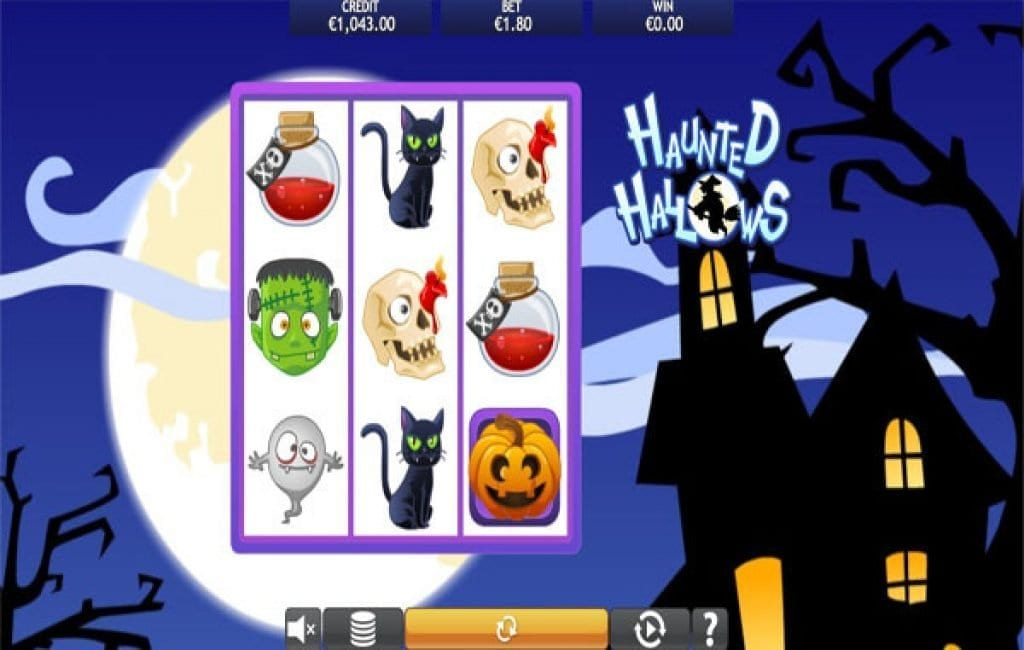 haunted hallows slot