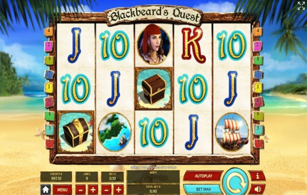 blackbeards quest slot