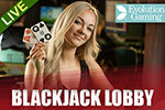 Live Deal Blackjack at Vegas Paradise
