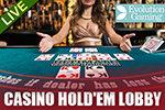 Live Dealer Vegas Paradise Texas Holdem