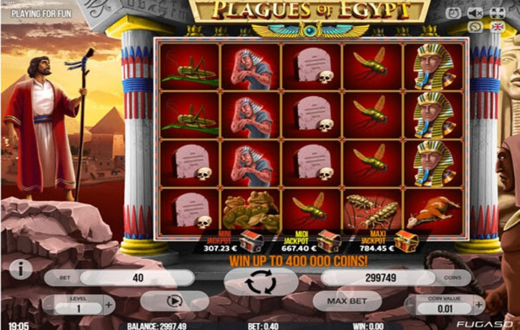 Plagues of Egypt slor