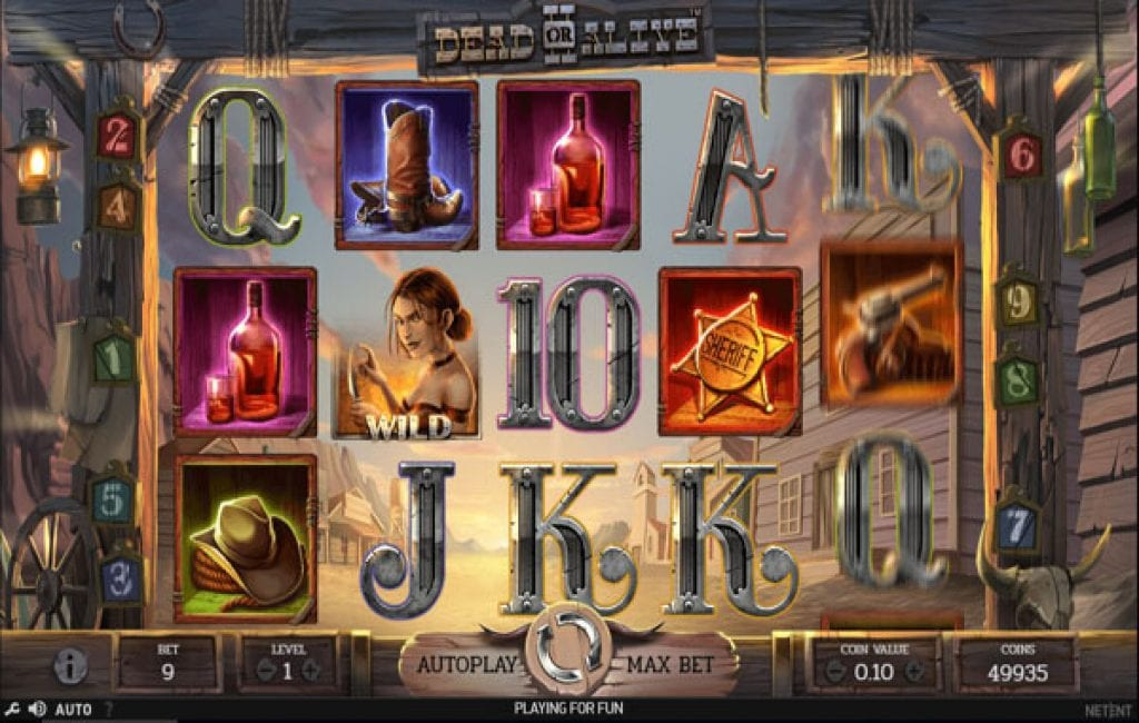 dead or alive II slot