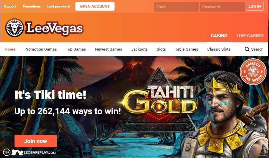 Leo Vegas Casino Online