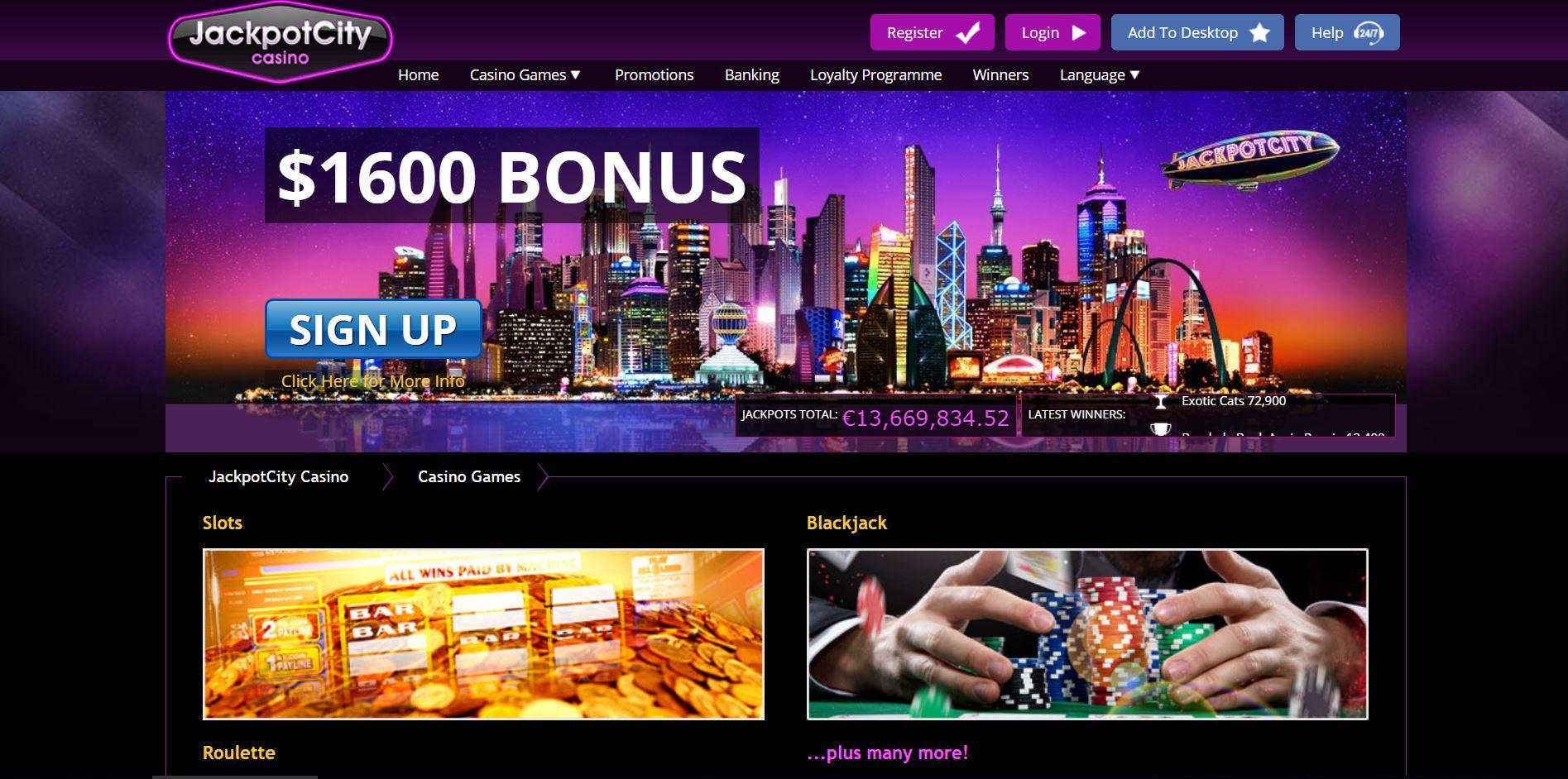 Online Casino Jackpot City