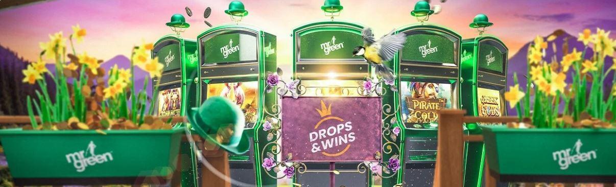 mr green cash drops