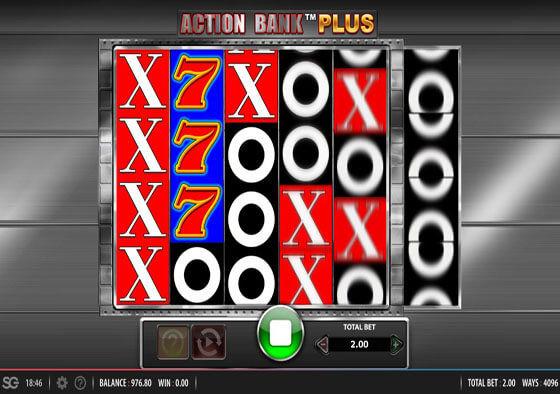 bank action plus slot